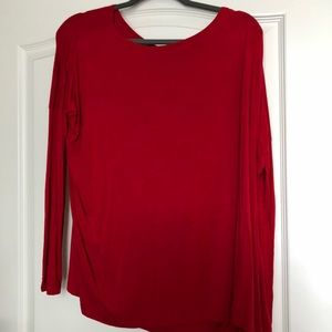 Piko shirt size small red